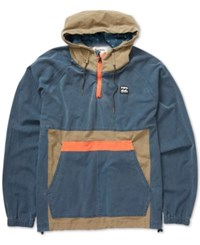 Billabong Men's New Order Anorak Jacket Deep