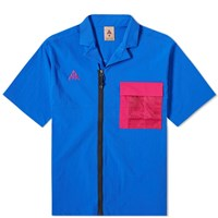 Nike Acg Short Sleeve Shirts Blue