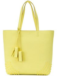 Tod's Wave Shopper Tote Yellow And Orange