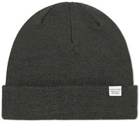 Norse Projects Top Beanie Green