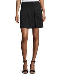 A.P.C. Martine Pleated Skort Black