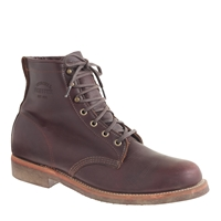 Original Chippewa For J.Crew Plain Toe Boots Chippewa Brown