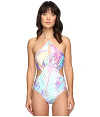 6 Shore Road Islanders One Piece Royal Palm Women's Swimsuits One Piece Multi