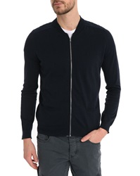 Ikks Navy Teddy Cardigan
