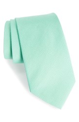 Southern Tide Dapper Dots Cotton And Silk Tie Green