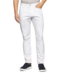 Calvin Klein Straight Leg Pants White
