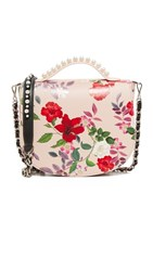 Mother Of Pearl Winston Satchel Nude Floral