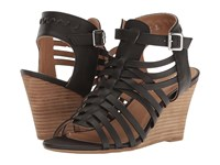Report Sonora Black Women's Wedge Shoes