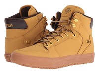 Supra Vaider Winter Amber Gold Light Gum Men's Skate Shoes Yellow