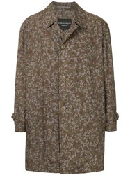 Comme Des Garcons Vintage Camouflage Lightweight Coat Brown