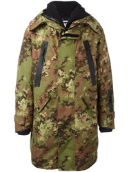 Dsquared2 Ski Camouflage Parka Green