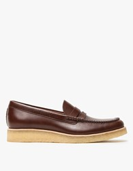 Clarks Burcott Loafer In Bordeaux Leather