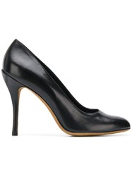Moschino Cheap And Chic Round Toe Pumps Black