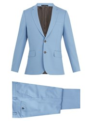 Paul Smith Single Breasted Wool Suit Light Blue