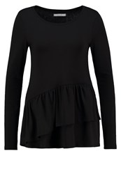 Vila Viofficiel Long Sleeved Top Black