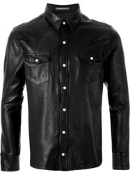 Guild Prime Lambskin Shirt Jacket Black