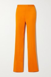 Versace Cady Bootcut Pants Orange