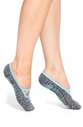 Women's Zella 'Studio' Ballet Socks Black Marl