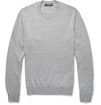 Dolce And Gabbana Cashmere Sweater Gray