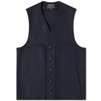 Filson Mackinaw Wool Gilet Blue