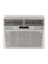 Frigidaire 10000 Btu Window Mounted Compact Air Conditioner And Temperature Sensing Remote Control White