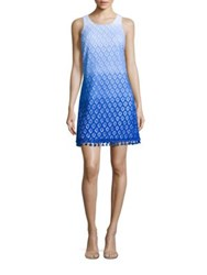 Lilly Pulitzer Marquette Ombre Lace Shift Dress