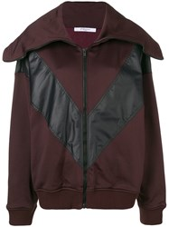 Givenchy Oversized Collar Jacket Red