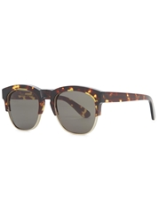 Wildfox Couture Club Fox Clubmaster Style Sunglasses