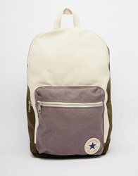 Converse Canvas Backpack In Green 13639C 108 Green