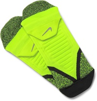 Nike Elite Cushioned Dri Fit Running Socks Yellow