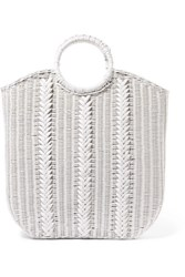 Ulla Johnson Rona Wicker Tote White Gbp
