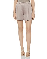 Reiss Aria Tailored Shorts Silver