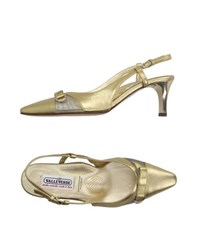 Valleverde Footwear Courts Women Gold