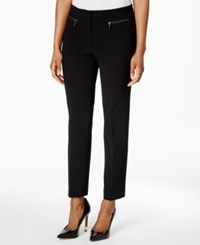 Nine West Zip Pocket Pants Black