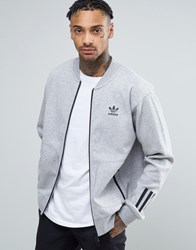 Adidas Originals Paris Pack Relaxed Track Jacket In Gray Bk0521 Gray