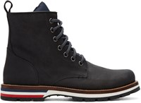 Moncler Black New Vancouver Boots