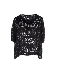 Each X Other Blouses Black