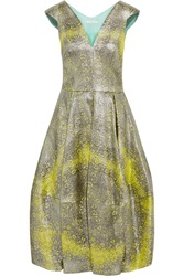 Antonio Berardi Metallic Jacquard Dress
