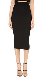 Cushnie Et Ochs Knit Pencil Skirt Black