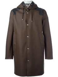 Stutterheim 'Gardet' Raincoat Brown