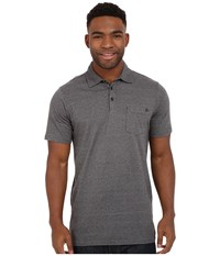 Rip Curl Country Club Polo Black 1 Men's Short Sleeve Pullover