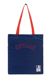 Herschel Supply Co. Packable Mlb American League Tote Bag Blue Houston Astros