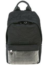 Mcq By Alexander Mcqueen Metallic Stud Backpack Black