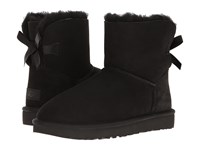 Ugg Mini Bailey Bow Ii Black Women's Boots