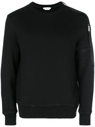 Alyx Zip Sleeve Sweatshirt Black