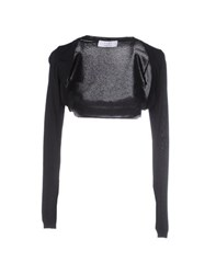 Kaos Topwear Shrugs Women Black