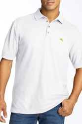 Tommy Bahama Relax The Emfielder Pique Polo Big And Tall White