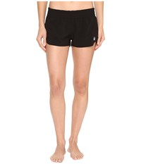 Volcom Simply Solid 2 Boardshorts Black Women's Swimwear
