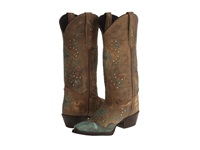 Laredo Cross Point Turquoise Women's Boots Blue
