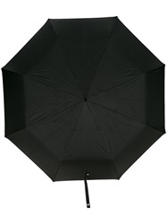 Alexander Mcqueen Skull Umbrella Black